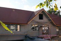 Casa din Vrancea cu Acoperis Decra / Acoperis Decra Classic terracotta.  Felicitari proprietarilor si spor la treaba. Sa fie casa pe care v-o doriti !  http://www.decra.ro/produse/decra-classic.aspx