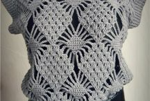 Pull au çrochet ou tricot