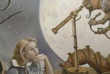 Alice in W:Art/David Delamare / Alice in wonderland (illustrator)