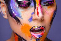grafitti face