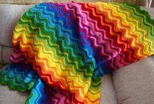 crochet rainbow