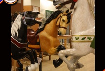 The Berkshire Carousel / Horses and ponies created for our carousel.