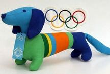 Olympic mascot Waldi