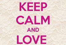 keep calm  thinks