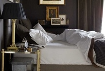 Dark Gray Rooms / Dark and dramatic rooms to set the mood.  / by James Williams