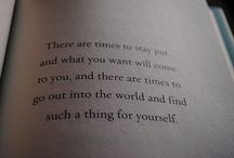Quotes / by Megan Cooper