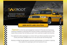 TaxiRoot - A complete whitelabel product for taxi businesses
