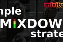 mixdown tips / electronic music production tips | mixdown tips and tutorials for Ableton Live | multitrack session mix tips process strategy