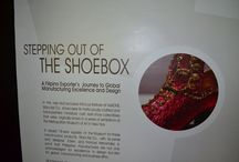 """""""Stepping Out of the Shoebox"""" at the InFocus Gallery (Jan-Mar 2014) / A Filipino Exporter's Journey to Global Manufacturing Excellence and Design. In this rare and exclusive InFocus Feature at HallONE, Mary Kel Co., Inc. showcases its meticulously crafted and hand-painted miniature cast resin shoe collectibles that were originally shown in a series of exhibitions at the Metropolitan Museum of Art in New York"""