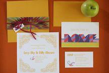 wedding invitations / by Emma Harwood