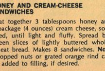Cheese and Honey Sandwiches