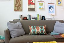 Living Rooms / simple, streamlined, and organized living spaces