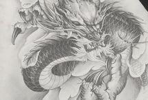 tatoo dragão