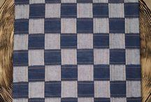 Handloom / Khadi Denim Made Ups / Exclusive range of accessories made from Khadi denim (handpun and handwoven) / Handloom Denim (handwoven denim)