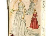 1950s Wedding Gown Sewing Patterns