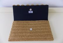Bolsas e carteiras de crochê