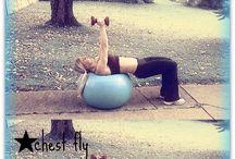 My gym routine