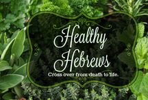 The Healthy Hebrew / Being a Hebrew is about crossing over- out the darkness into the light, out of lies into truth, out of death into life. To be a light and good example in this world, it is important to eat right and be healthy as part of our honor and servitude to the Father. We must fill our body with the food our Creator created for His children to eat- fill our temple/tabernacle with life and good health.