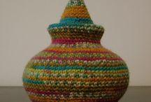 Crocheted Baskets & Bowls / by Barbara Tappa