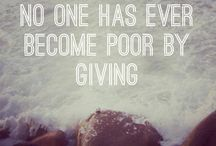 Give Back.