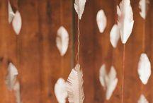 свадьба с птичьим декором / Birds Theme Wedding