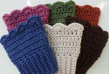Crochet Boot tops
