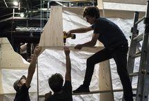 Scénographie de la conférence TED Global / La HEAD fière d'annoncer que ses étudiants en Architecture d'intérieur, en Design Bijou, Design Mode et Communication visuelle ont réalisé la scénographie de la conférence TED Global
