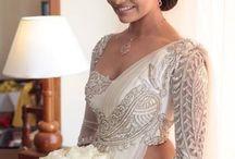 Christian bridal sarees