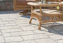 Patios with Genest Paving Stones
