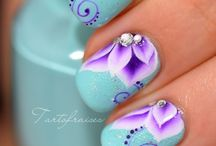 Mani and Pedi obsession / Nail art  / by Dahlia Rose