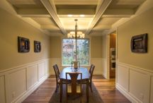 Dining Room Designs / A collection of our dinning rooms from our homes.