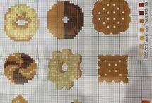 biscotti a punto croce