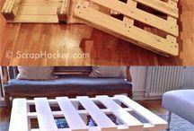 madeira / móveis, paletes e afins
