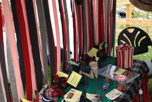 Idlewild Wool Shows / hand braided rugs, wool strips, wool scotty dogs, hand dyed wool, rug hooking wool, rug braiding wool, penny rug supplies
