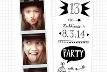 Party Ideas ~ Invitations