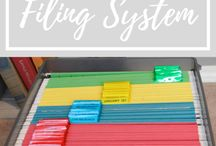 Organizing Paperwork / Paper can be one of the hardest things to stay on top of! Here you will find ways to simplify your paper organization systems so that you can spend less time shuffling and stacking!