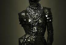 metal clothing