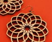 Laser cutting jewellery  / Inspiration for laser cutting jewellery