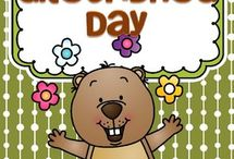 Groundhog Day theme for preschool / This is a collection of Groundhog Day themed resources for your preschool, pre-K and Kindergarten aged children, to use both at school and at home. Make hands-on, interactive learning games and activities with these creative free, and low-cost printable pages