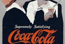 old advertising. / Huge warehouse of old advertising