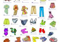Vocabulary - Clothes