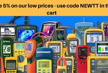 Savings on Test and Measurement Equipment / Save additional 5% on all Test Equipment!