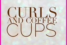 Curls and Coffee Cups