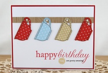 Card Making Birthdays / by Linda Uhl