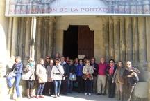 Visita de la Agencia de Viajes Nicolás / La Agencia de Viajes Nicolás ofrece a sus clientes la ruta del románico de las Cinco Villas, siendo el destino elegido para pernoctar Ejea de los Caballeros.