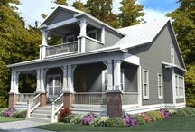 Historical House Plans / Our collection of Historical House Plans represent the architectural design principles of lovely older homes seen in historical towns and cities across the United States but with the conveniences and features of more modern homes.