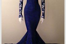 Vestidos Cola de Sirena ♥