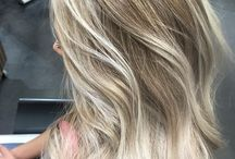Balayage blonde