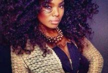 #hairstyles #haircrushes / Natural Beauties