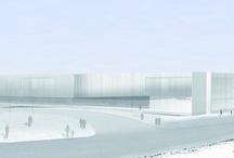 Steel Pearl Curtains / Peneder Basis, Atzbach, Austria LP architektur ZT GmbH, Austria